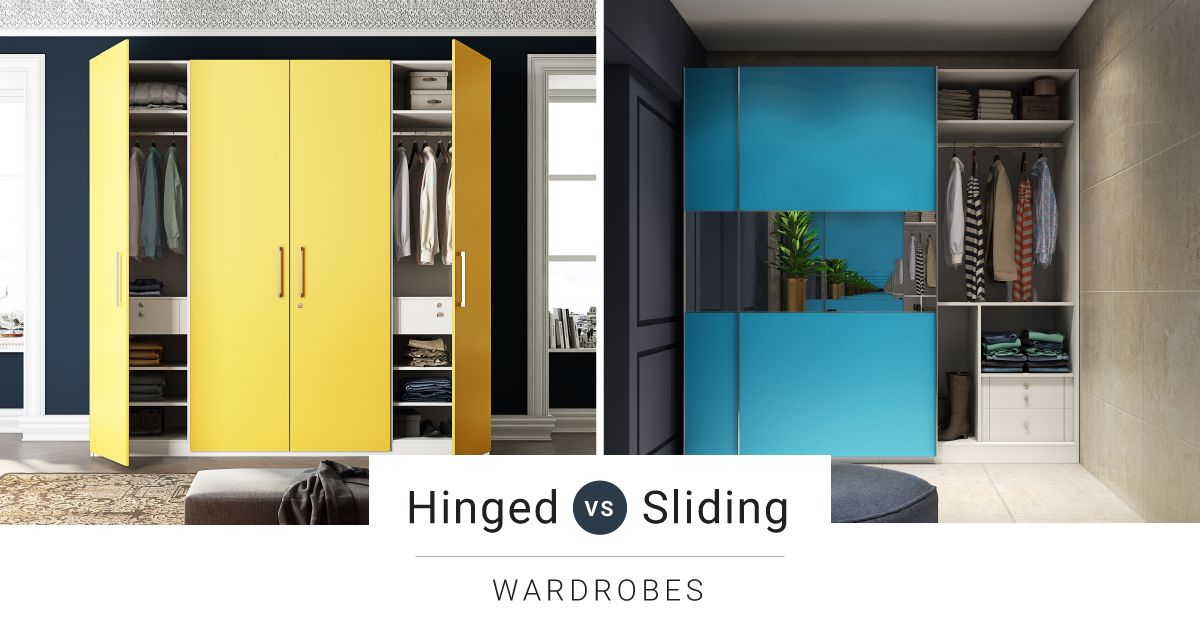 Hinged or Sliding – Which Wardrobes to Choose?
