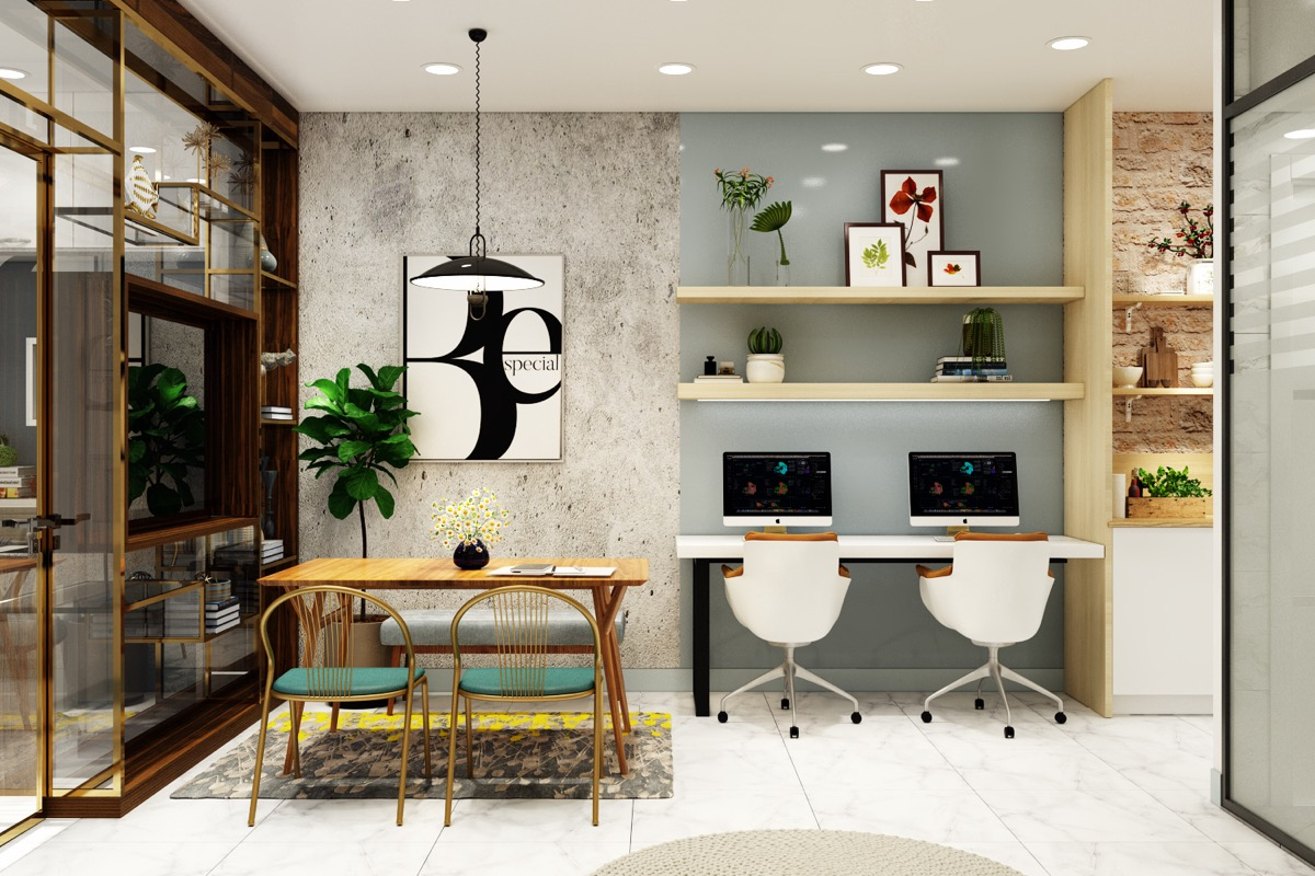 Quick, Easy & Affordable Home Office Designing Tips