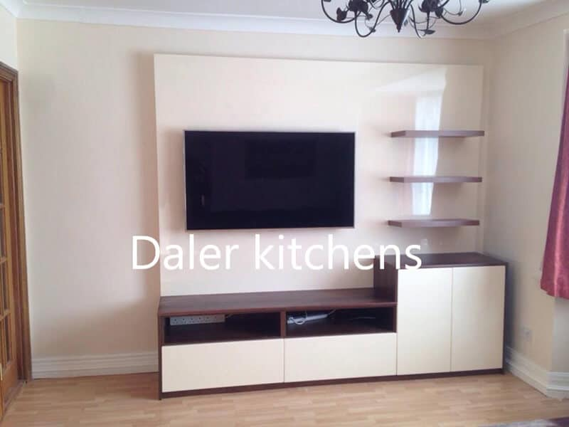 Bespoke Fitted TV Cabinet Installation Cost London
