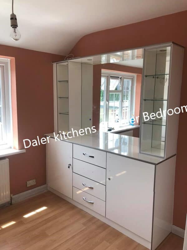 Bespoke Fitted Dressing Table Suppliers Installation Cost London