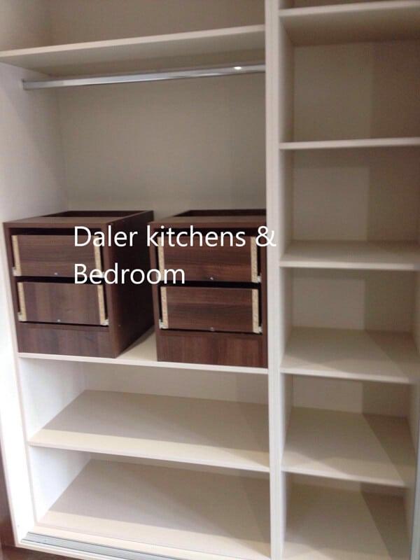 Bespoke Wardrobe Interiors London | Daler Kitchens