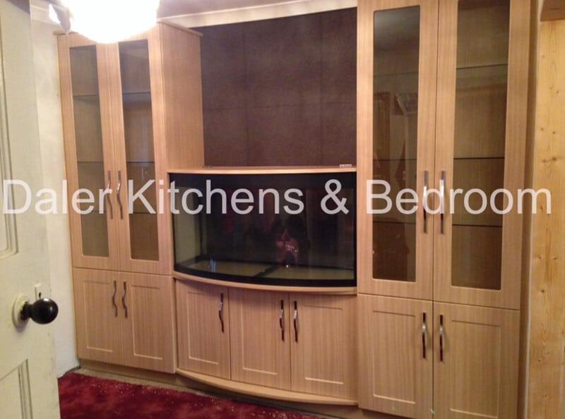 Fitted TV Cabinet Cost London | Daler Kitchens