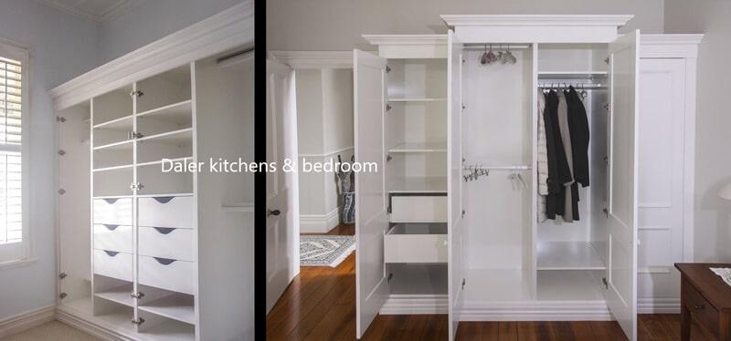 Bespoke Wardrobe Interiors Designers Cost London | Daler Kitchens