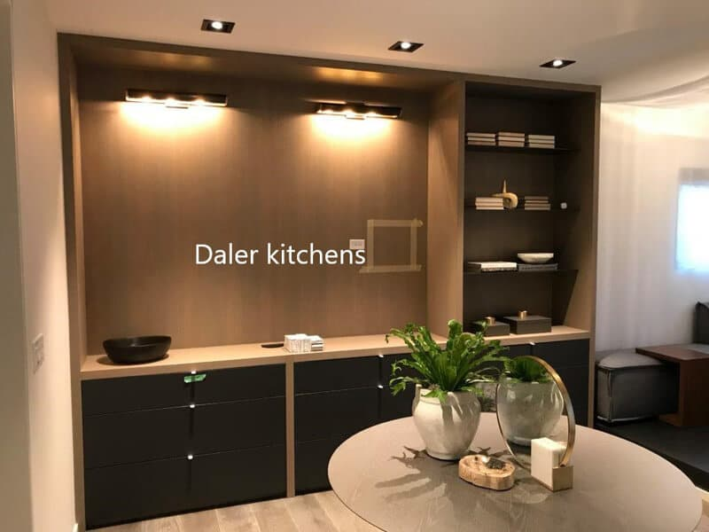 Fitted TV Cabinet Designers Cost London | Daler Kitchens