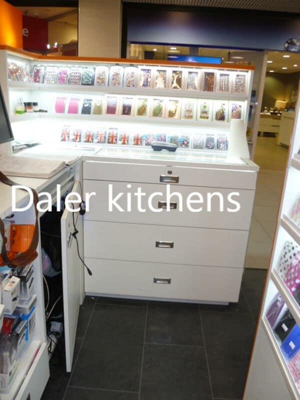 Bespoke Fitted Shop Designer Cost London   Daler Kitchens