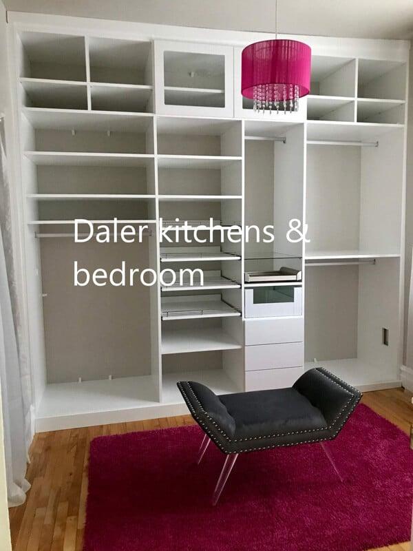 Bespoke Wardrobe Interiors Designers London | Daler Kitchens