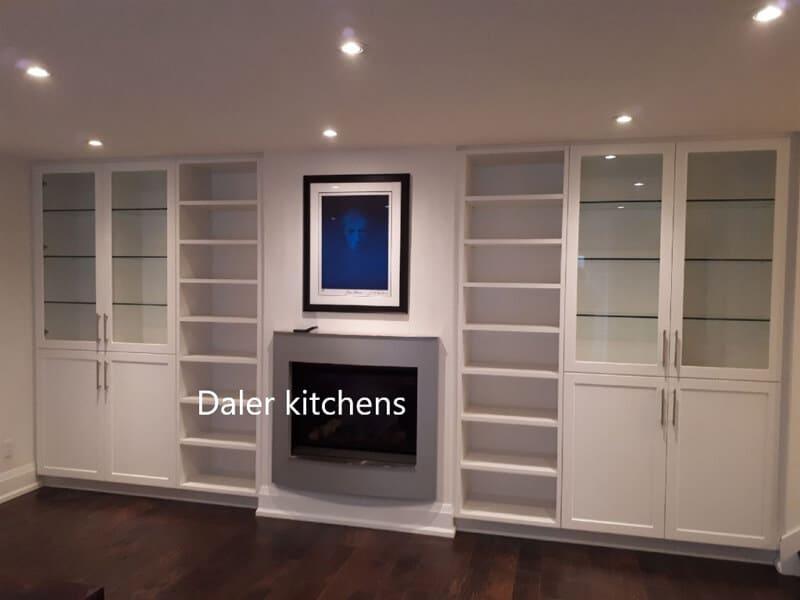 Fitted TV Cabinet Design Cost London | Daler Kitchens