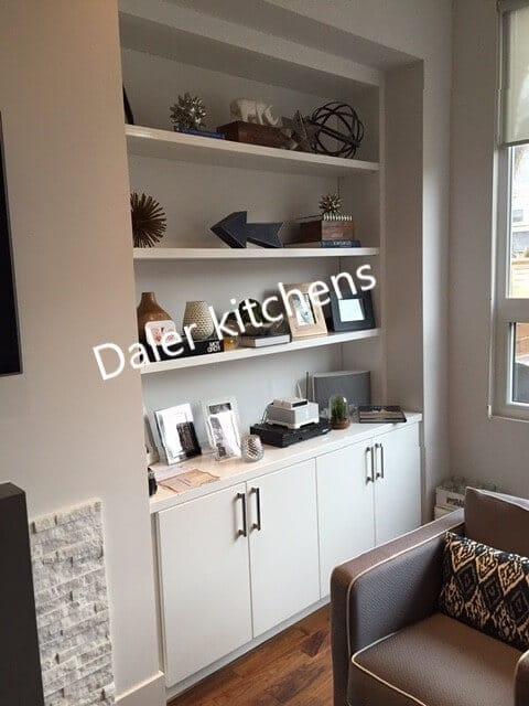 Living Room Bespoke Furniture Design London   Daler Kitchens
