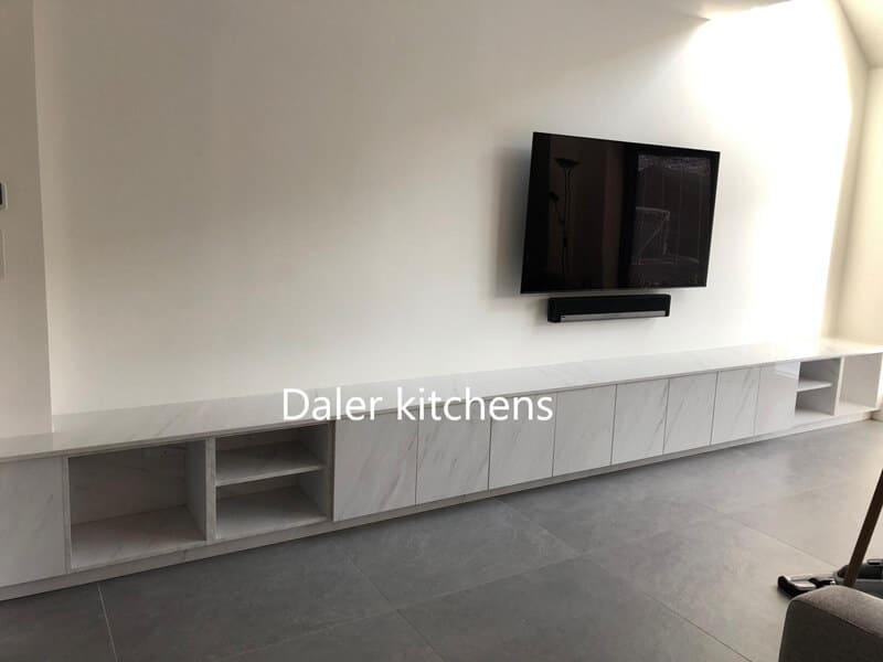 Bespoke Fitted TV Cabinet London | Daler Kitchens