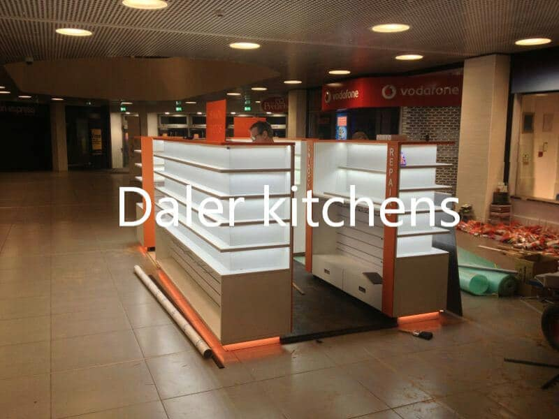 Fitted Shop Design Cost London