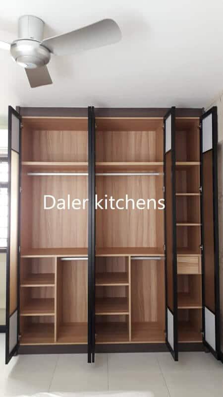 Bespoke Wardrobe Interior Designer Cost London | Daler Kitchens