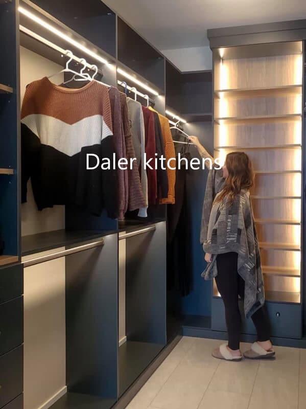 Bespoke Wardrobe Interior Design Cost London | Daler Kitchens