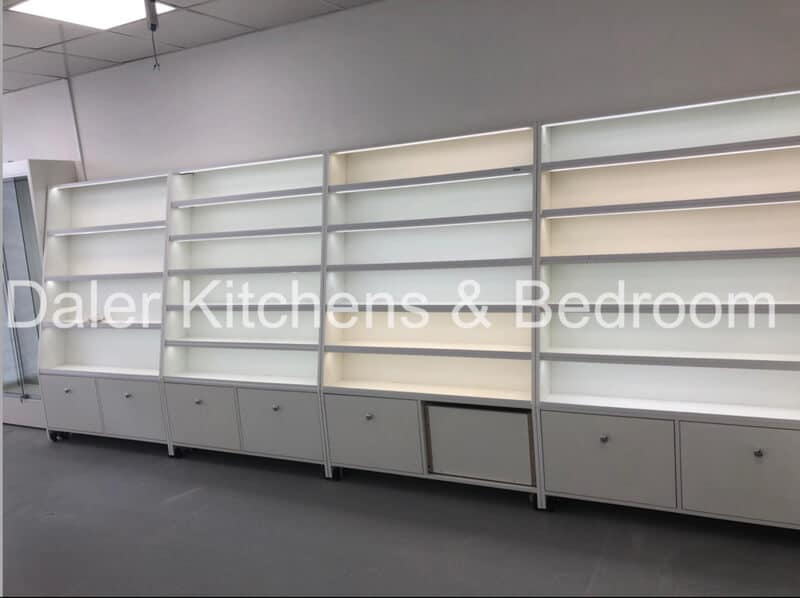 Bespoke Fitted Shop Design London