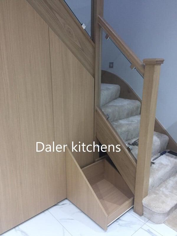 Staircase Wardrobe Design London