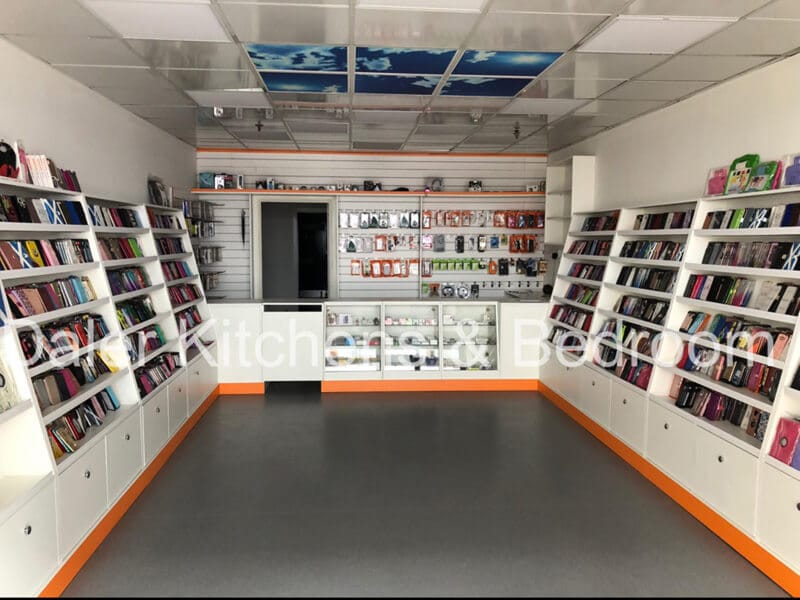 Fitted Shop Design London