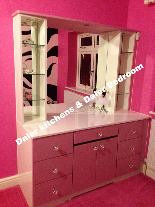 Bespoke Fitted Dressing Table Suppliers London