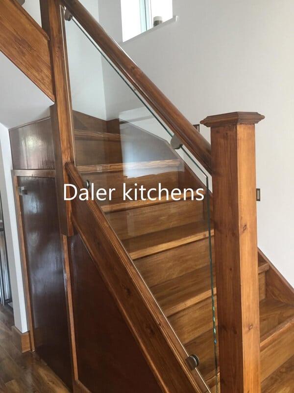 Staircase Wardrobe Installation Cost London | Daler Kitchnes