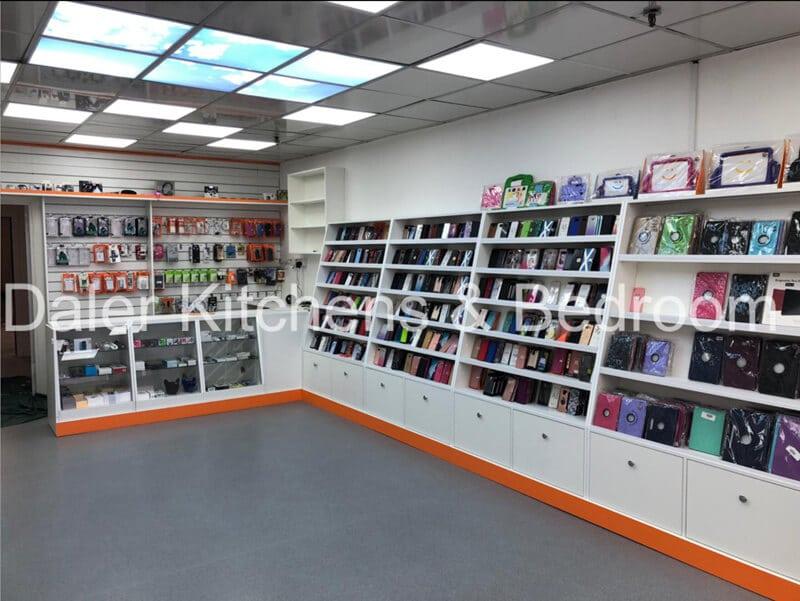 Bespoke Fitted Shop Designer Cost London