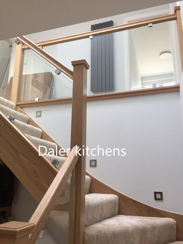 Staircase Wardrobe London | Daler Kitchens