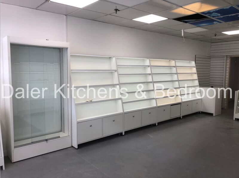 Fitted Shop Designers Cost London