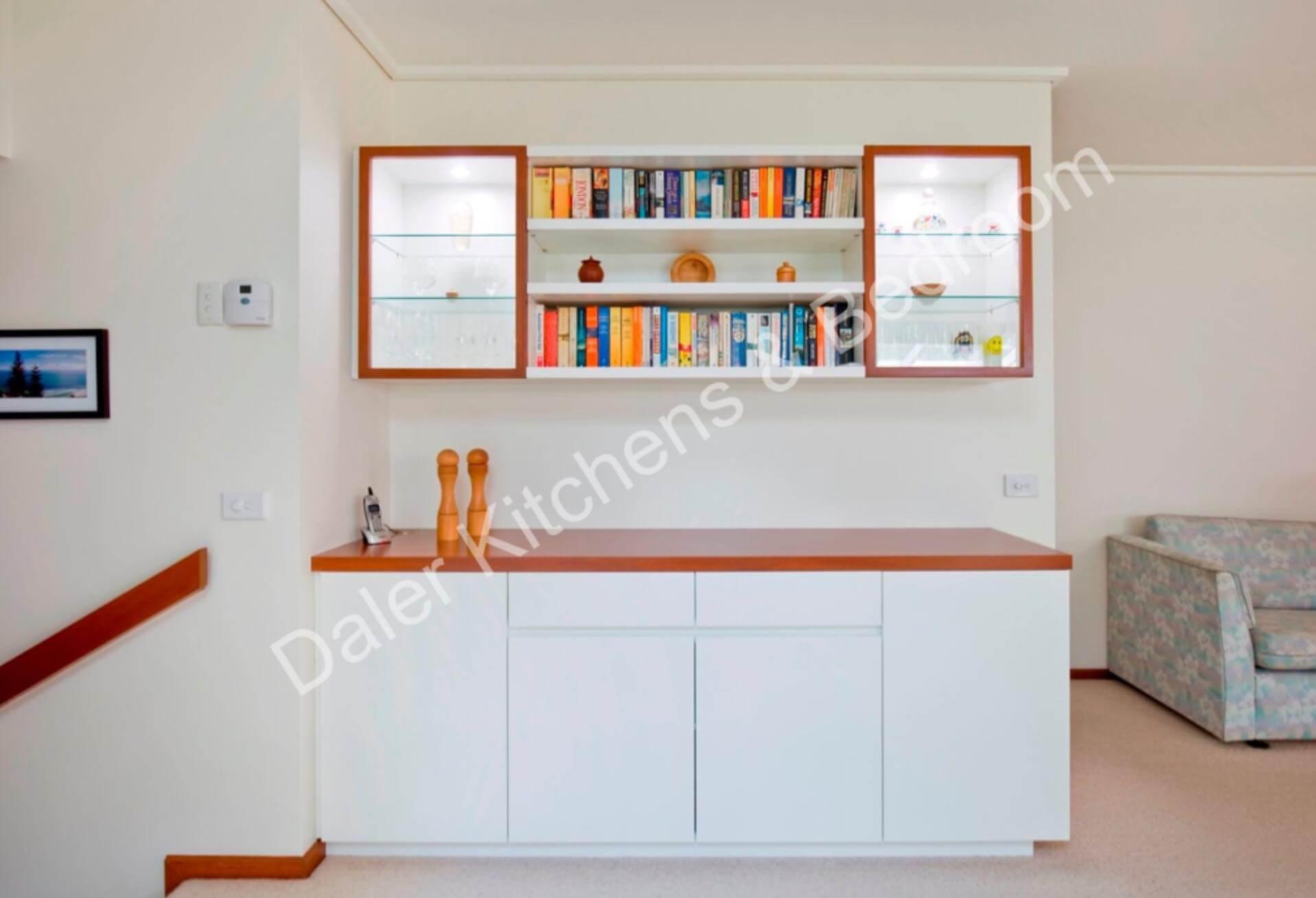 Living Room Bespoke Furniture Installation Cost London   Daler Kitchens