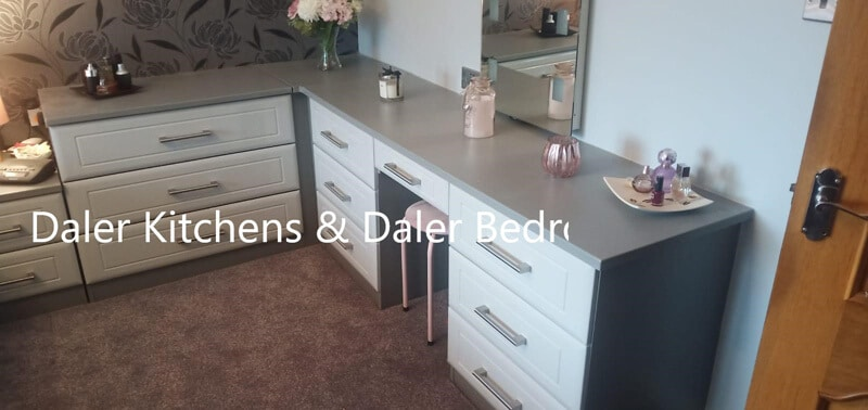 Bespoke Fitted Dressing Table Installation Cost London