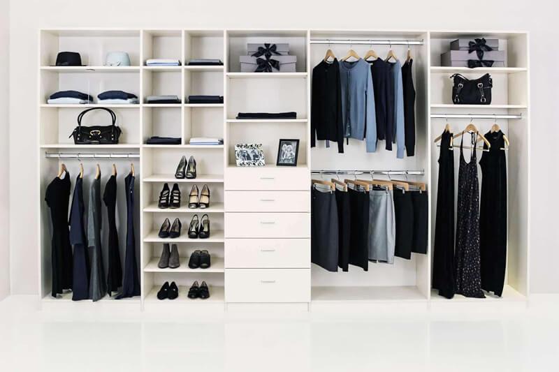 Wardrobe Interiors Design Cost London | Daler Kitchens