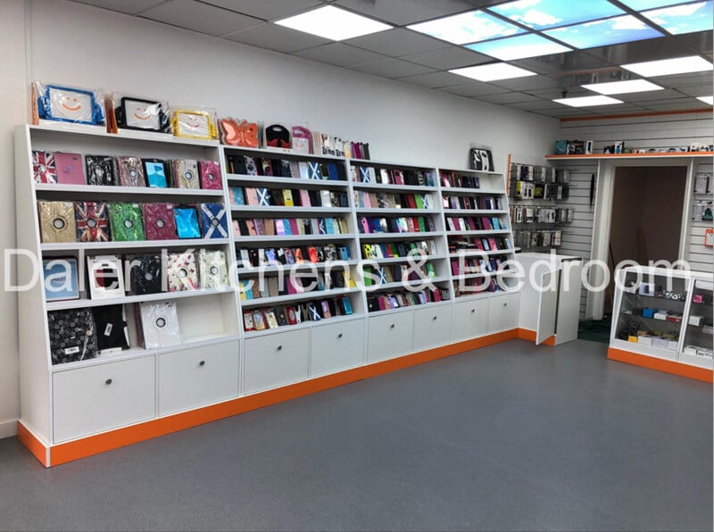 Fitted Shop Designer Cost London