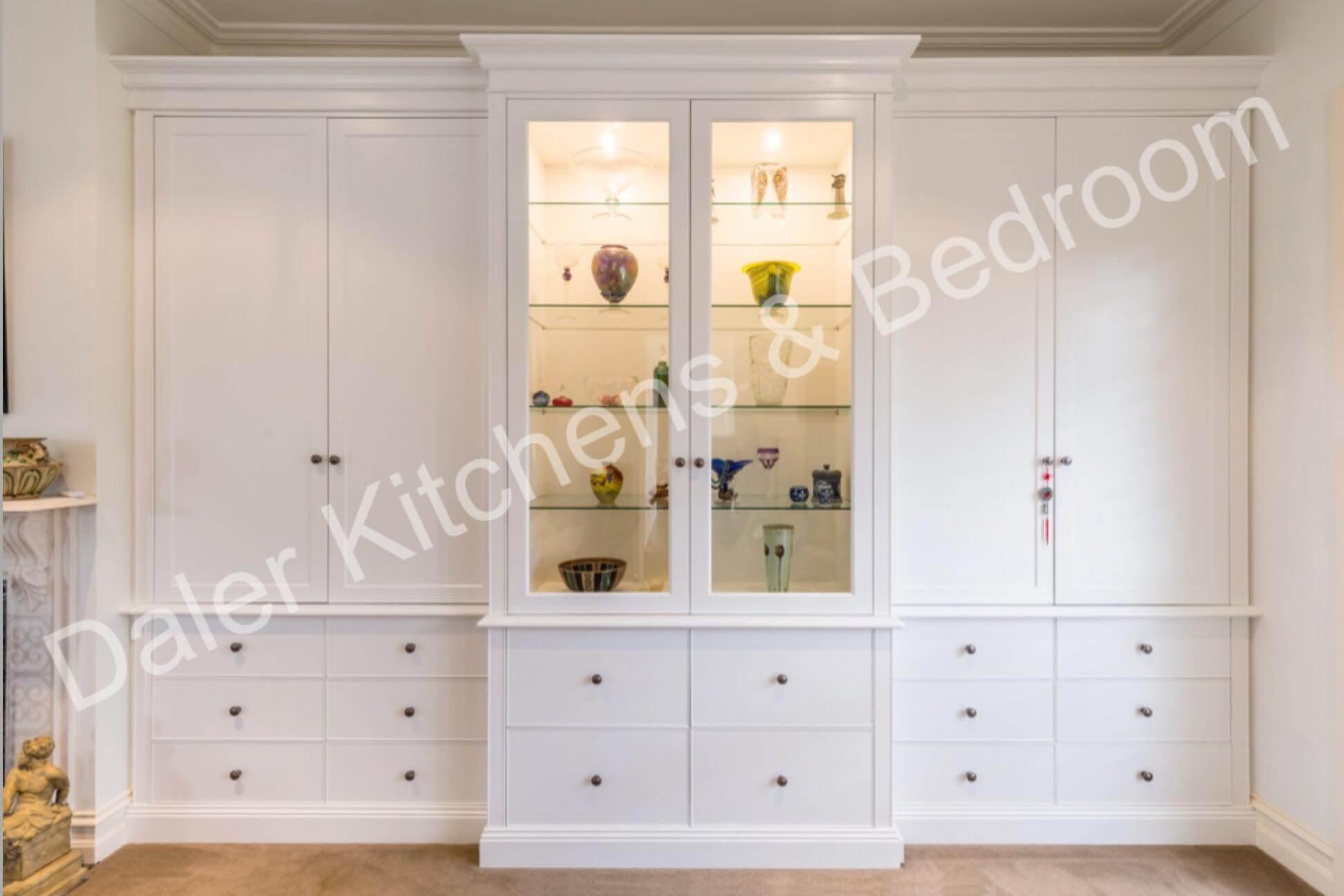 Living Room Bespoke Furniture Suppliers London   Daler Kitchens